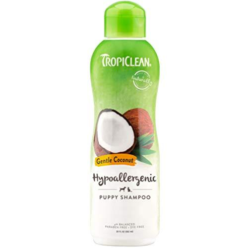 Tropiclean Hypo allergénique - meilleur shampooing pour chien pour la peau enflammée