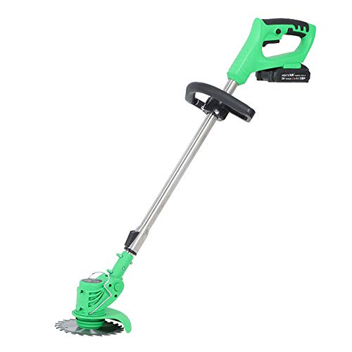 Portable Low Noise Electric Multi-Function Lawn Mower Household Grass Trimmer, Retractable Rod, 18000 Rpm