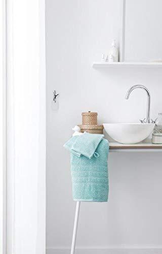 Today Gants de toilette Coton, Portofino Blue, 16x21