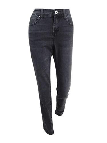 INC International Concepts Grey Wash Skinny Jeans (Grey, 8)