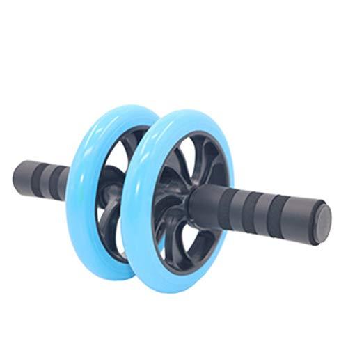Hbao Gym Roller Trainer Training Muskeltrainingsgeräte Home Fitnessgeräte Doppelrad Abdominal Power Wheel (Color : D)