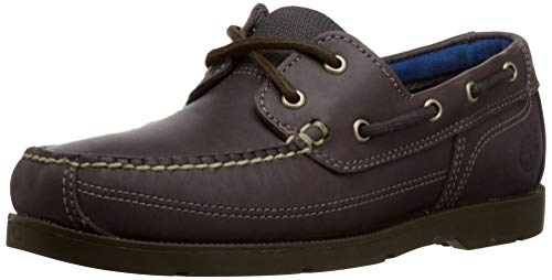 Timberland Men's Piper Cove Fg Boat, Brown Pull Up, 8 M US