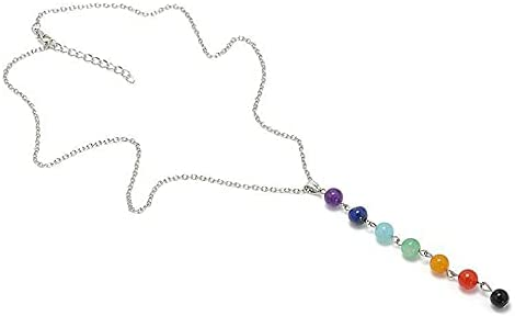 Healing Free Shipping New Yoga Luxury Necklaces Colorful Pend Beads Natural Stone