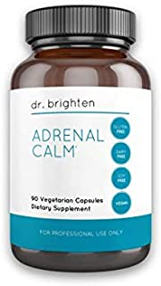 Dr. Brighten Adrenal Calm - Dietary Supplement Drops Stress Hormones Supports Restful Sleep and Cortisol Balance with Ashw...