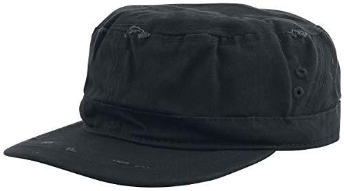 Black Premium by EMP Casquette Army Vintage Unisexe Casquette Noir, 100% Coton, Regular/Coupe Standard