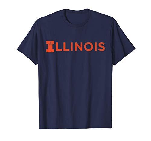 Champaign Illinois IL vintage Athletic Style T-Shirt