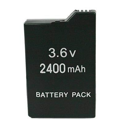 Lyyes PSP Battery 2400mAh 3.6V Rechargeable Battery for Sony PSP 3000 / Slim 2000/Slim 2001