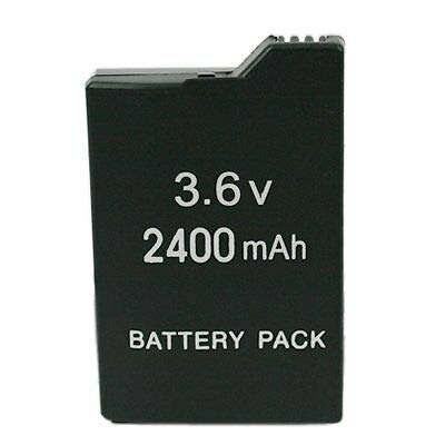 Lyyes PSP Battery 2400mAh 3.6V Rechargeable Battery for Sony PSP 3000 / Slim 2000/Slim 2001