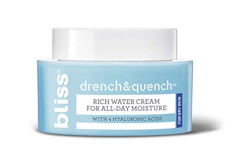 Drench & Quench Rich Water Cream For Dry Skin | All Day Moisture with 4...
