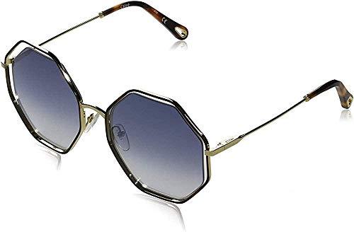 Chloe Damen Ce132s Sonnenbrille, Havana/Gradient Blue, Standard