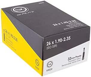 Sale price SUNLITE New Free Shipping Presta Valve Bicycle Tubes 26 32mm x 1.90-2.35