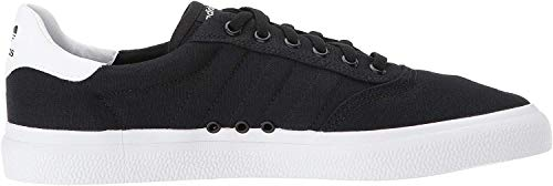 adidas Originals Men's 3MC Sneaker, black/black/white, 9.5 M US