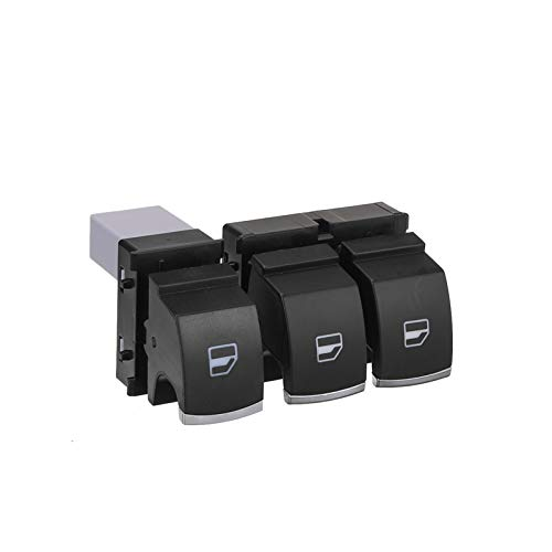 SHOUNAO Coche Master Single Window Controll Interruptor Ajuste para VW Golf 5 6 Touran Passat B6 B7 CC Caddy Tiguan Polo Touran 5k3959857 5nd959855