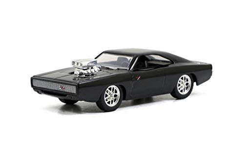 Jada Toys Fast & Furious 1:55 Dom's Dodge Charger R/T Build N' Collect Die -cast Model Kit, Toys for Kids and Adults