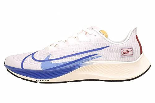 Nike Air Zoom Pegasus 37 PRM, Zapatillas para Correr Hombre, White Game Royal Gym Red Sail Black, 41 EU