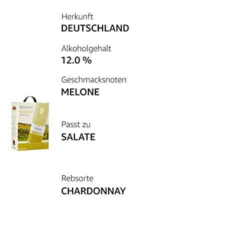 Maybach Chardonnay trocken Bag-in-box (1 x 3 l) - 4