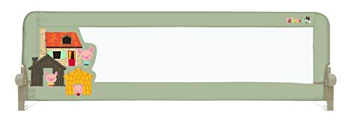 Asalvo 3 Cerditos - Barrera de Cama 2 en 1