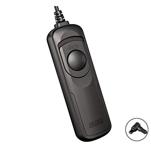 Kabelfernauslöser ayex AX-10 (N3) - Kompatibel mit Canon EOS 1D X Mark II, 5D Mark IV, 5DS, 6D, 7D Mark II u.v.m. - mit Funktionen wie Serienauslösen und Bulb, leichte Handhabung