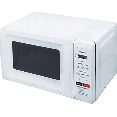 [山善] 電子レンジ 17L ヘルツフリー ターンテーブル 消音機能 チャイルドロック付き 全国対応 ホワイト MRM-HF170(W) [メーカー保証1年]