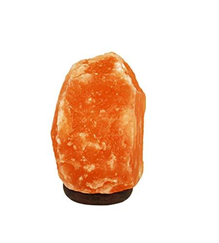 regalos originales para mujer,Necesidades y regalos Calidad Original Cristal de Himalaya Lámpara de sal de roca Lámpara de sal natural Lámpara de sal de iones negativos Regalo creativo de salud Lámpar
