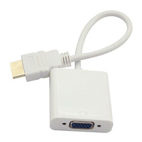B Blesiya Convertidor de Cable de Video con Salida HDMI a VGA...