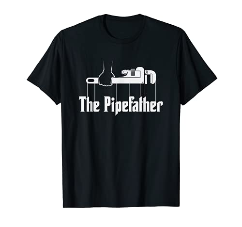 The Pipefather - Funny plumber plumbing T-Shirt Gift
