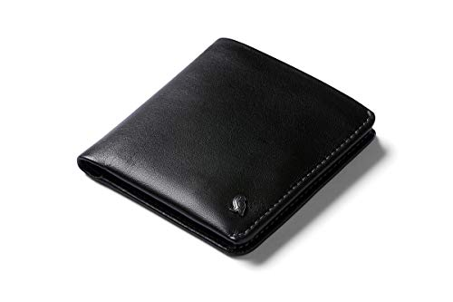 Bellroy Coin Wallet (oltre 8 carte, banconote stese, portamonete con chiusura magnetica) - Black - RFID