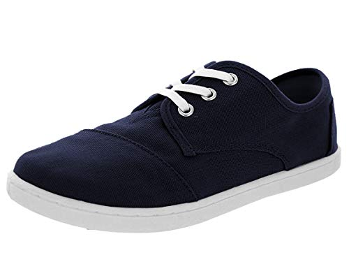 Toms - Youth Mid-Top Paseos Shoes, Size: 2 M US Little Kid, Color: Navy Canvas