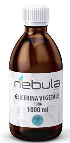 NEBULA - Glicerina Vegetale pura 1 litro MADE IN ITALY - QUALITA' FARMACEUTICA