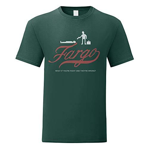LaMAGLIERIA Camiseta Hombre Fargo - Camiseta Cinema 100%...