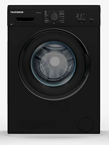 Telefunken W-01-50-B Waschmaschine (5 kg / 1000 U/Min) mit Mengenautomatik und Überlaufschutz