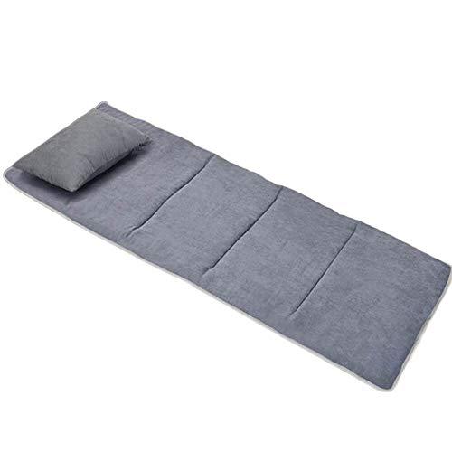 190 * 68 cm Sala de Estar Dormitorio Niños Escalada Bebé Mat Plegable a prueba de humedad Colchón Con Cojín Inflable Impermeable Gris