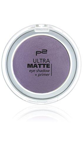 p2 cosmetics Ultra Matte Eye Shadow + Primer 040, 3er Pack (3 x 3 g)