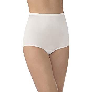 Vanity Fair Women s Perfectly Yours Ravissant Tailored Nylon Brief Panty - Size XX-Large / 9 - Candle Glow