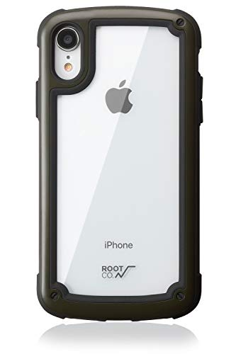 ROOT CO.(ルート)『Shock Resist Tough & Basic Case. for iPhoneXR(GST9-BK)』