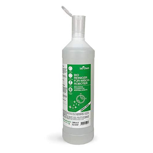 Bio-Chem Wischroboter-Reinigungsmittel Bodenreiniger 1000 ml inkl. Dosierhilfe – Extrem ergiebiges Konzentrat für Wischroboter und Saugroboter mit Nass-Funktion Aller Marken - Nachhaltig & ökologisch