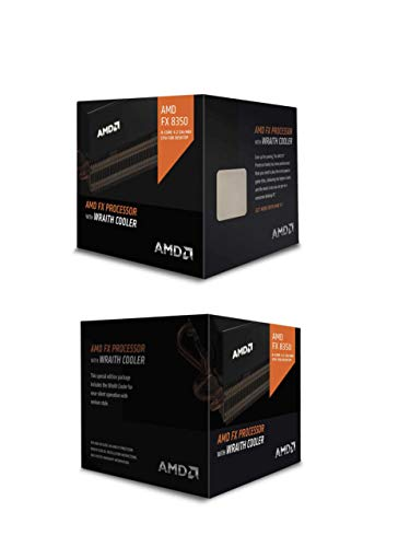 AMD FX 8350 - Procesador (AMD FX, 4 GHz, Socket AM3+, PC, FX-8350, 2,6 GT/s)