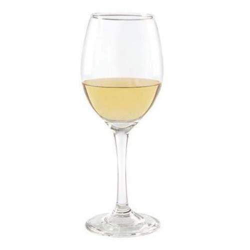 Set de 4puntas Luminarc 'rioga 11oz transparente copas de Borgoña (, copas de vino en un tallo para vino tinto o blanco...