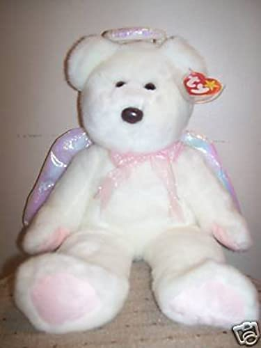 TY Beanie Buddy - Halo The Bear - Retirot by Beanie Buddies
