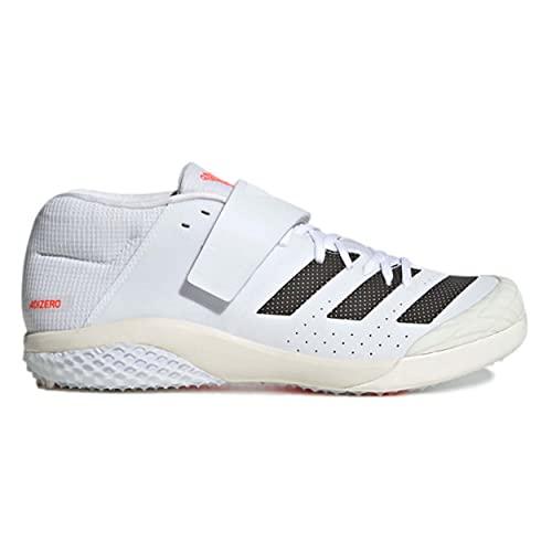 adidas Adizero Javelin, Zapatillas de Atletismo Unisex Adulto, FTWBLA/NEGBÁS/Rojsol, 47 1/3 EU