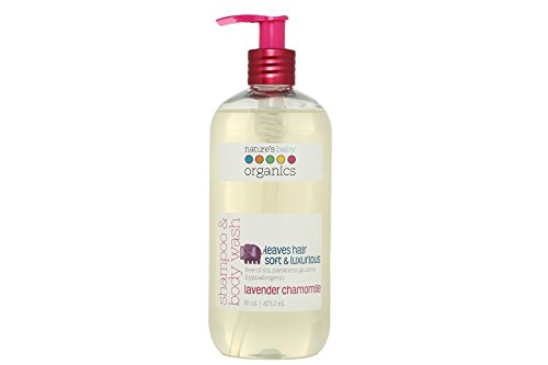 Title: Nature's Baby Organics Shampoo & Body Wash, Vanilla Tangerine, 8 oz | Babies, Kids, Adults! Moisturizing, Organic, Soft, Natural, Suave, Hypoallergenic | No Harsh Chemicals Or Parabens, SLS,