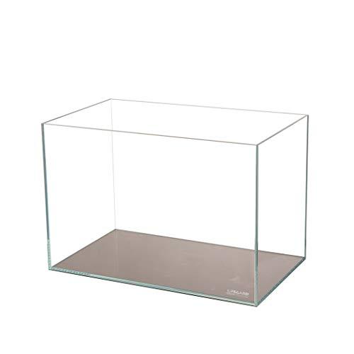 "5.44 Lifegard Aquatics Crystal Aquarium Ultra Low Iron Rimless Beveled Edge Glass 45° Beveled Edge Tank, 5 mm Glass (14.17"" x 8.66"" 10.24"")"