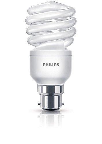 Philips Tornado Twister Basse consommation BC Ampoule 15W 68W consommation avec lumière (Blister Pack de 2) Blanc Chaud 860Lm 656852 B22 Code:
