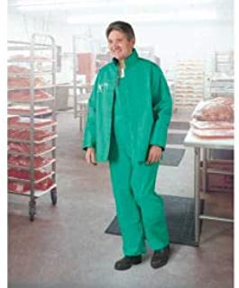 Onguard Sanitex Green Hood, PVC on Polyester, L, (Pack of 10) (71260LG00)