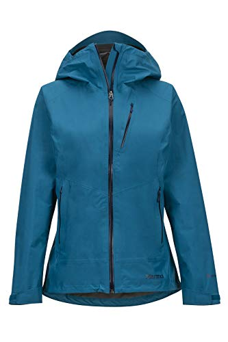 Marmot Damen Wm's Knife Edge Hardshell Regenjacke, Winddicht, Wasserdicht, Atmungsaktiv, Late Night, L