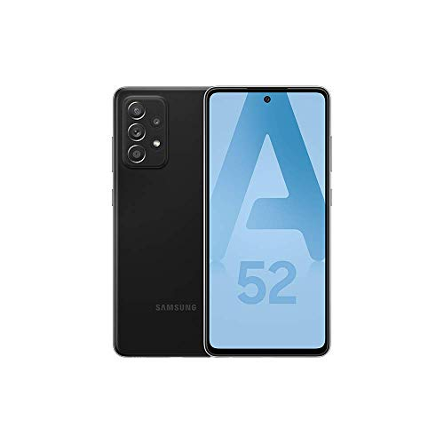Samsung Galaxy A52 5G - Noir - 128GB - Smartphone Android débloqué - Version Française - Ecouteurs inclus
