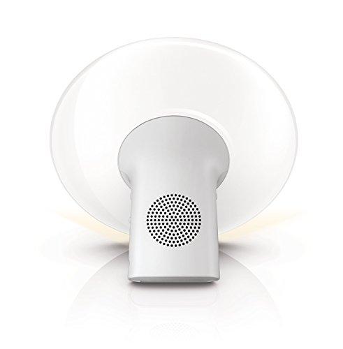 Philips SmartSleep HF3500/60 Wake-Up Light Therapy Alarm Clock with Sunrise Simulation, White