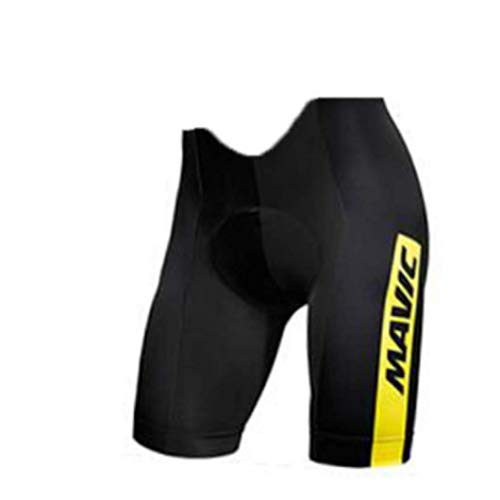 Men's 9D Padded Cycling Bib Shorts Shockproof Quick Dry Cycle Wear Tights Bike Bicycle Bibs