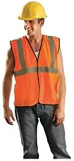Occunomix ECO-GC Class 2 Value Mesh Safety Vest-Orange-4/5X