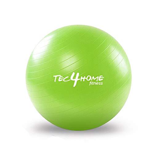 Pelota De Pilates Gris  marca TEC4HOME